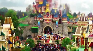 Eurodisney Paris Tilt-Shift